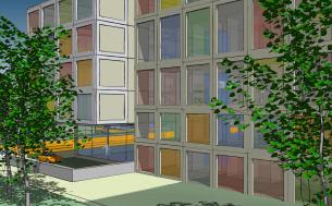 Visualisierung: Stadtquartier in Konstanz   MARKUS EHRMANN   Dipl.-Ing. (FH)   Architekturleistungen und Visualisierung  